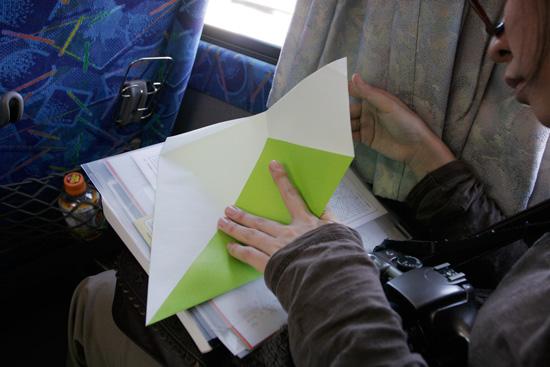 折り紙デカっ!