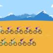 数字とイラストで見るツール・ド・フランス
